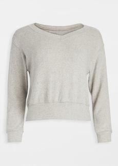 Velvet by Graham & Spencer Velvet V Neck Sweater