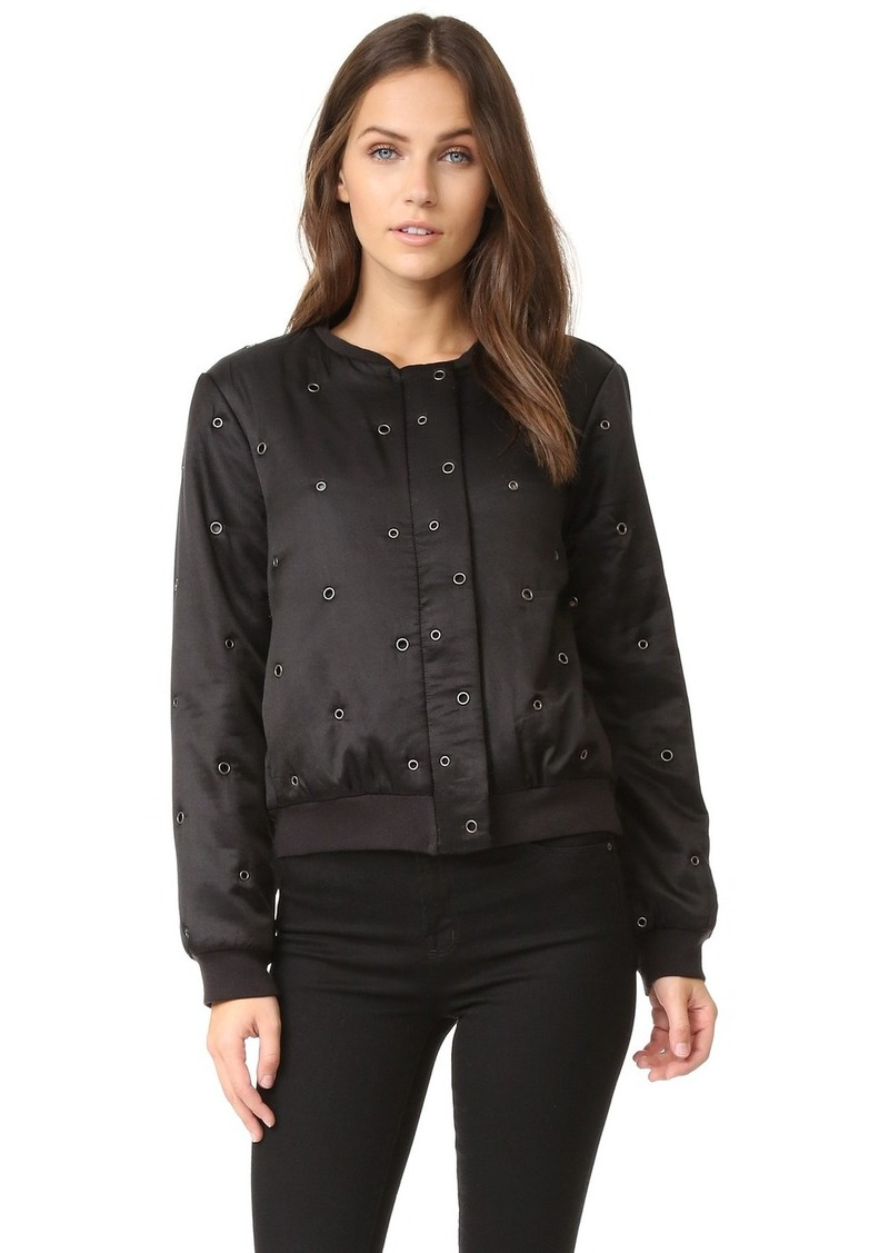 Velvet by Graham & Spencer Velvet Viviette Bomber