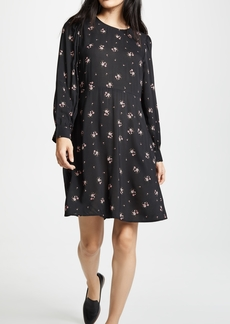 Velvet by Graham & Spencer Velvet Winola Floral Printed Challis Dress