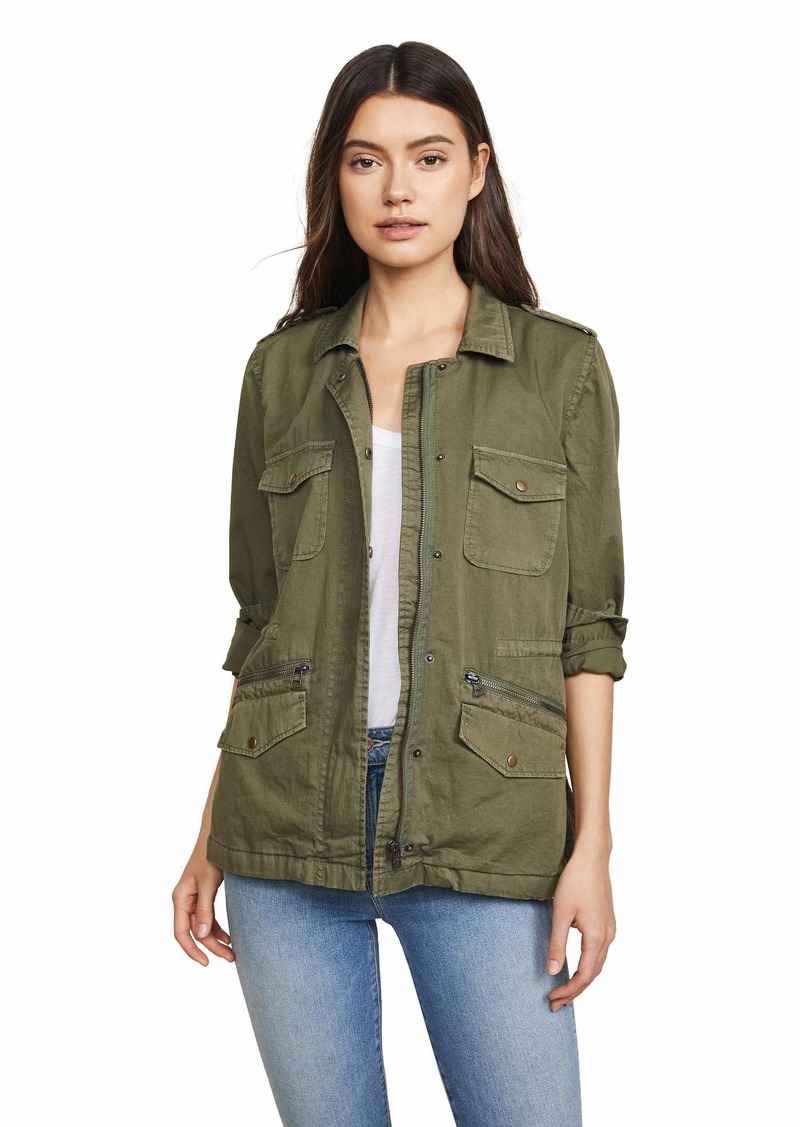Velvet by Graham & Spencer Velvet Women's Lily Aldridge for Velvet Ruby Jacket  Green