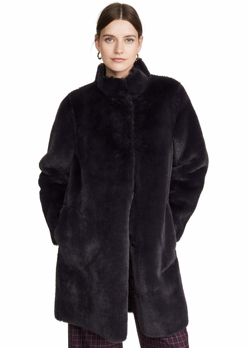 Velvet by Graham & Spencer Velvet Women's Mina Coat  Black