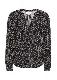 Velvet by Graham & Spencer Vivian geometric-printed blouse