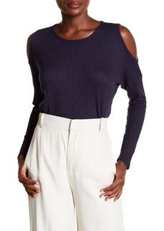 Velvet by Graham & Spencer Wilma Cold Shoulder Sweater