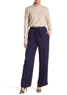 Velvet by Graham & Spencer Winnie Satin Pull-On Pants