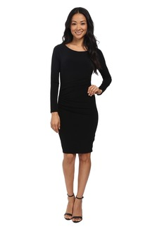 Velvet by Graham & Spencer Yesenia03 Stretch Jersey Long Sleeve Dress