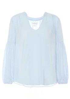 Velvet by Graham & Spencer Yulia crêpe blouse