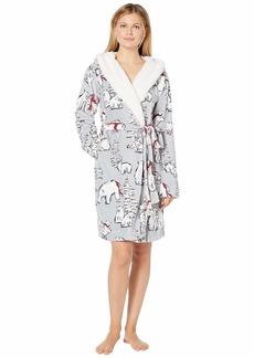 Vera Bradley Hooded Fleece Robe