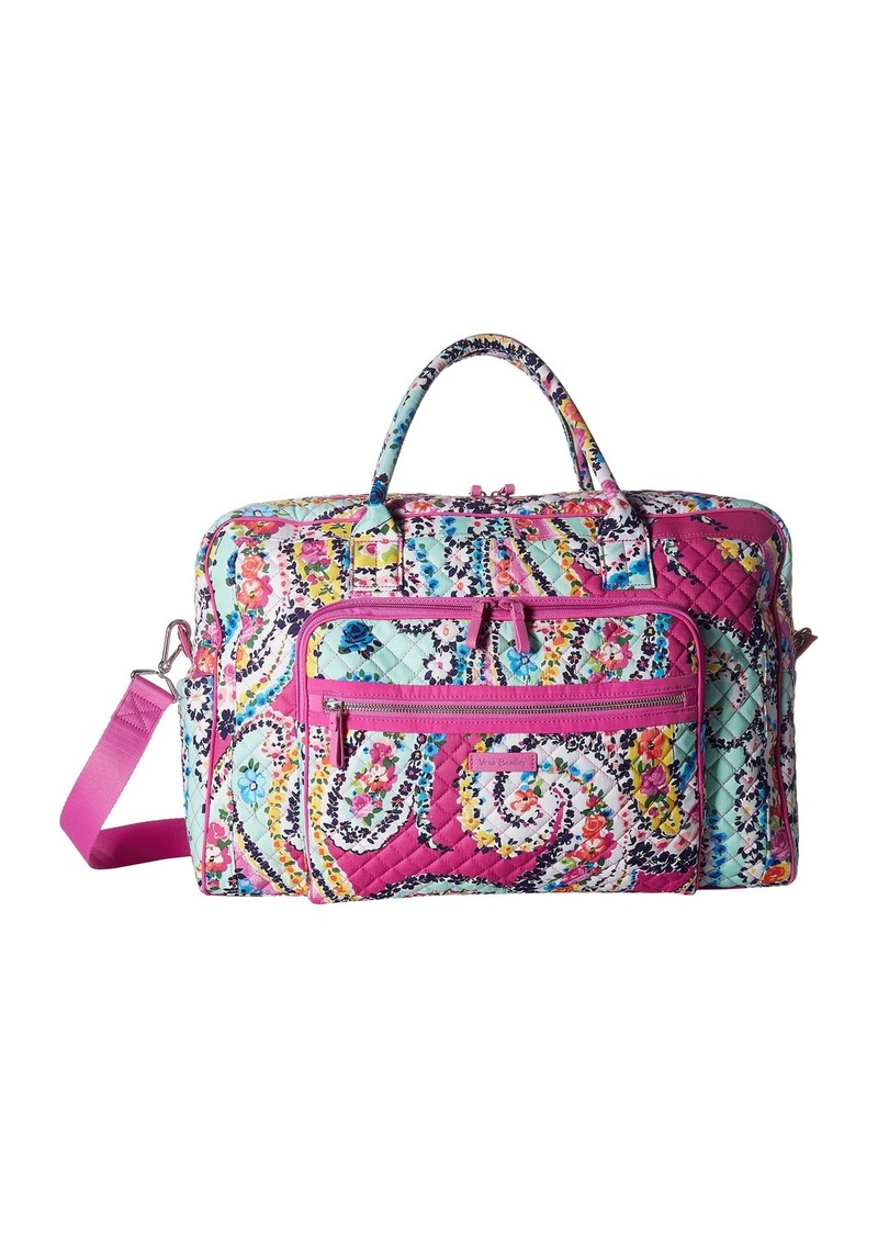 Vera Bradley Iconic Weekender Travel Bag 82949f93ebb25