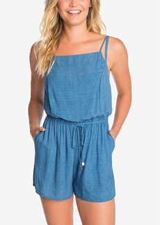 Vera Bradley Chambray & Chardonnay Romper Cover-Up Women's Swimsuit