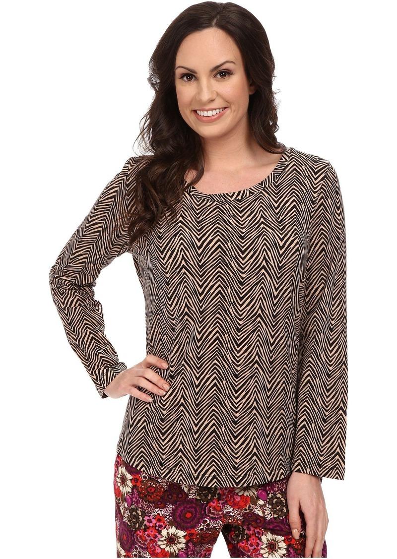 Vera Bradley Cozy Knit Pajama Top