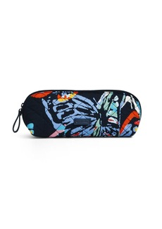 Vera Bradley Iconic Brush & Pencil Case Signature Cotton
