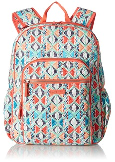 Vera Bradley Iconic Campus Backpack Signature Cotton