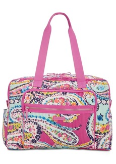 Vera Bradley Iconic Deluxe Extra-Large Weekender Travel Bag