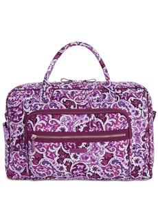 Vera Bradley Iconic Extra-Large Weekender Travel Bag