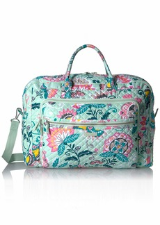 Vera Bradley Iconic Grand Weekender Travel Bag Signature Cotton