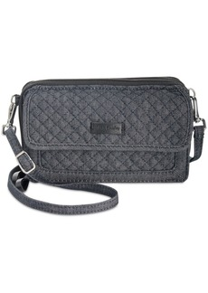 Vera Bradley Iconic Rfid All in One Denim Mini Crossbody