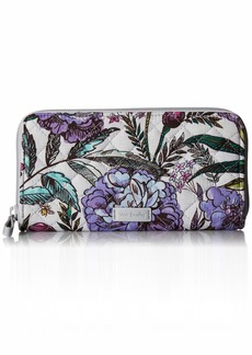 Vera Bradley Iconic RFID Georgia Wallet Signature Cotton