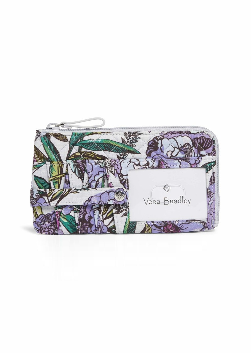 Vera Bradley Iconic RFID Ultimate Card Case Signature Cotton