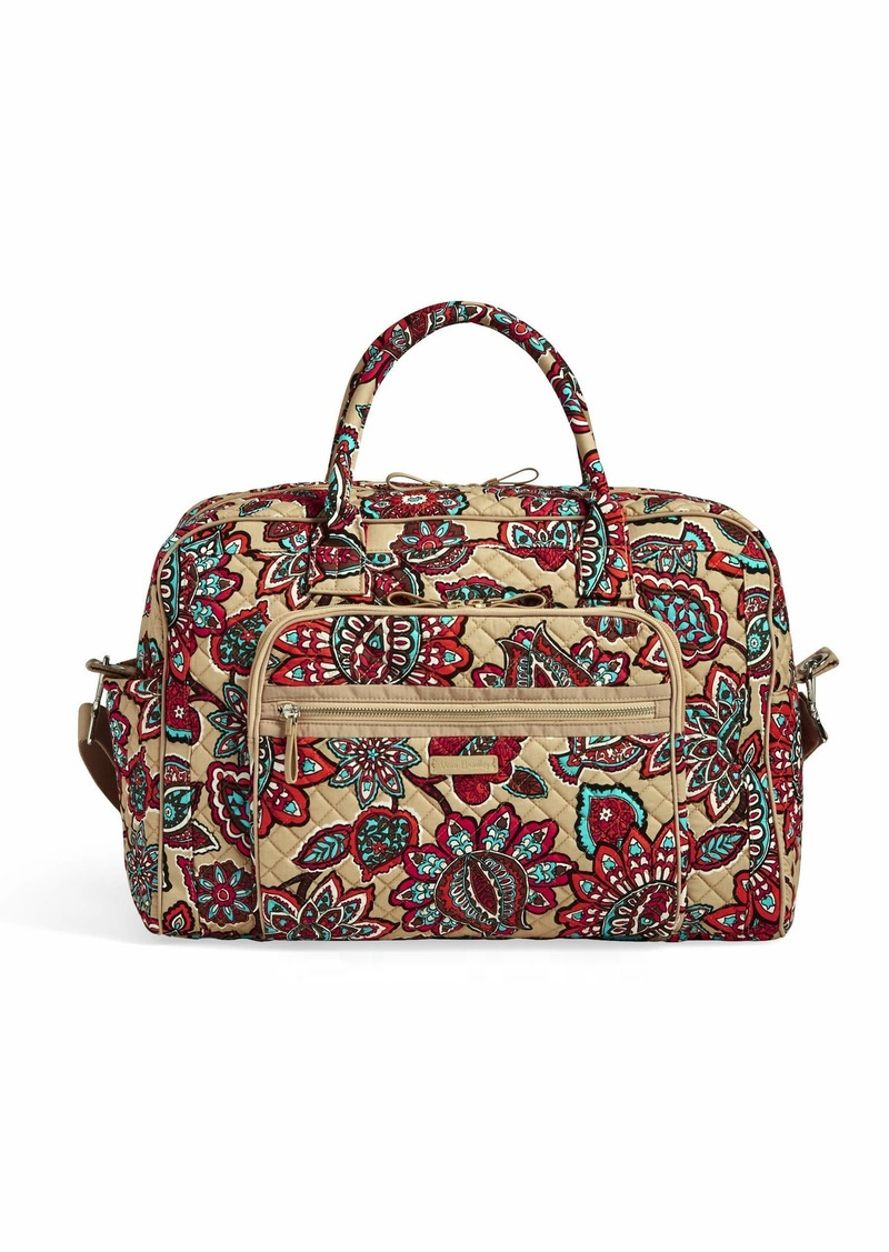 Vera Bradley Iconic Weekender Travel Bag Signature Cotton