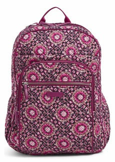 Vera Bradley Iconic XL Campus Backpack Signature Cotton