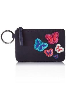 Vera Bradley Iconic Zip ID Case Microfiber