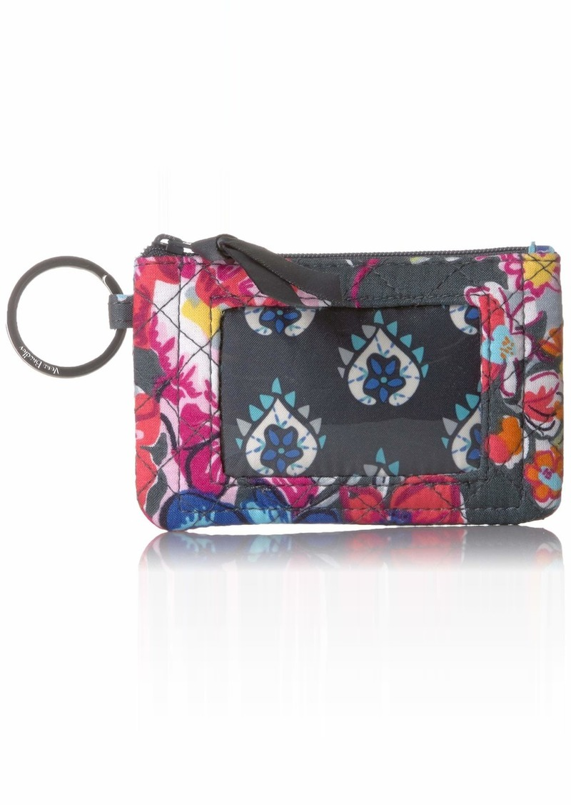 Vera Bradley Iconic Zip ID Case Signature Cotton