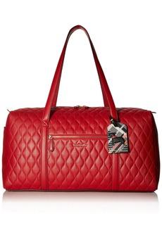 Vera Bradley Large Duffel Leather