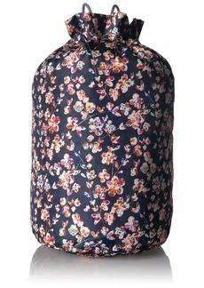 Vera Bradley Lighten up Cinch Laundry Bag Polyester