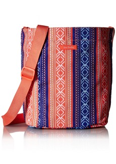 Vera Bradley Lighten Up Drawstring Shoulder Bag Polyester