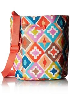 Vera Bradley Lighten Up Drawstring Shoulder Bag Polyester