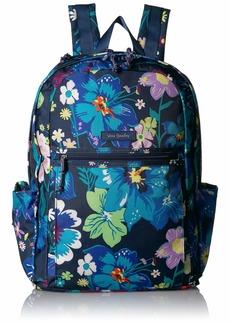 Vera Bradley Lighten Up Grand Backpack Polyester firefly Garden
