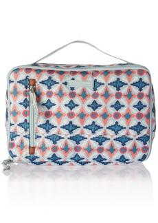 Vera Bradley Lighten up Large Blush and Brush Case Polyester