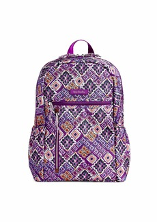 Vera Bradley Lighten Up Study Hall Backpack Polyester dream diamonds