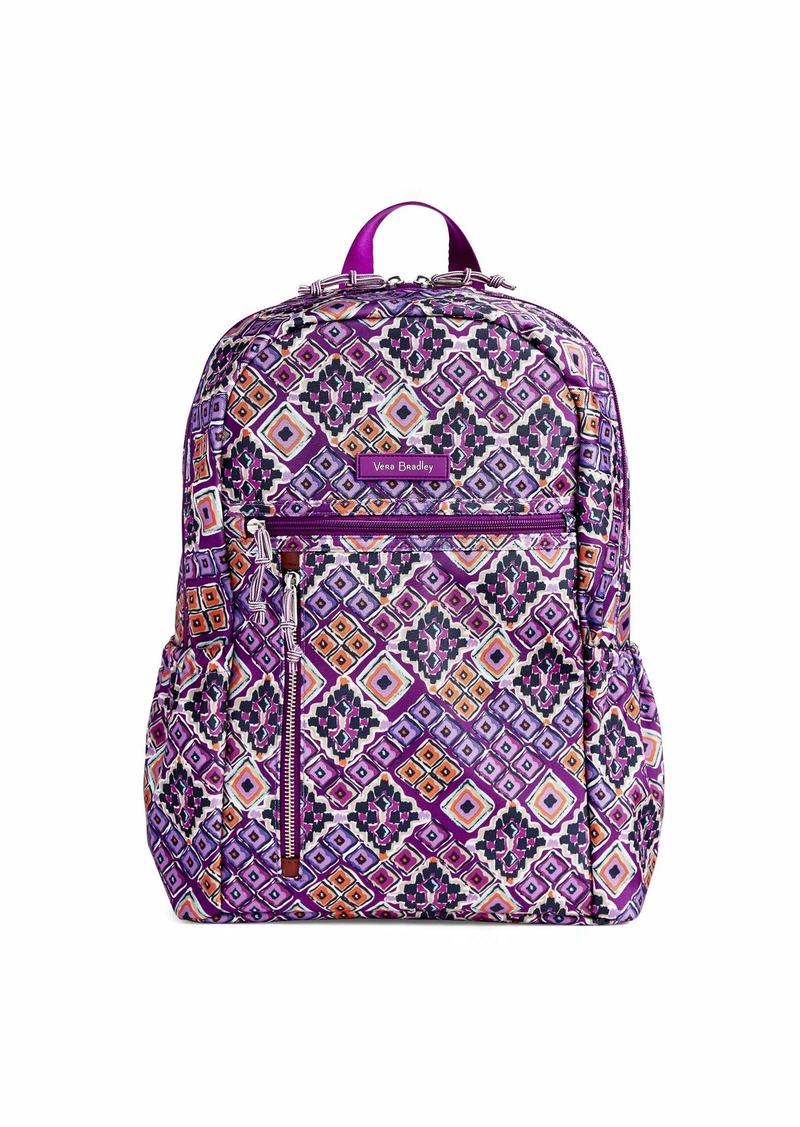 Vera Bradley Lighten Up Study Hall Backpack Polyester dream diamonds