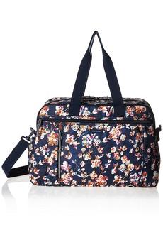 Vera Bradley Lighten Up Weekender Travel Bag Polyester