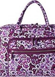 Vera Bradley Luggage Iconic Weekender Travel Bag