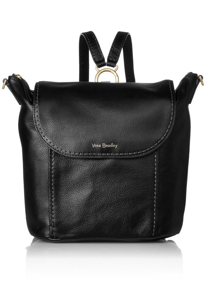 Vera Bradley Mallory Backpack Leather black