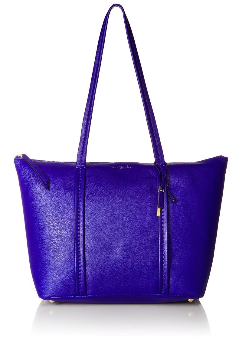 Vera Bradley Mallory Tote Leather gage Blue