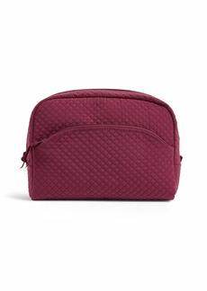 Vera Bradley Microfiber Large Cosmetic Makeup Organizer Bag