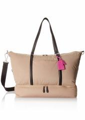 Vera Bradley Midtown Travel Bag Polyester Twill