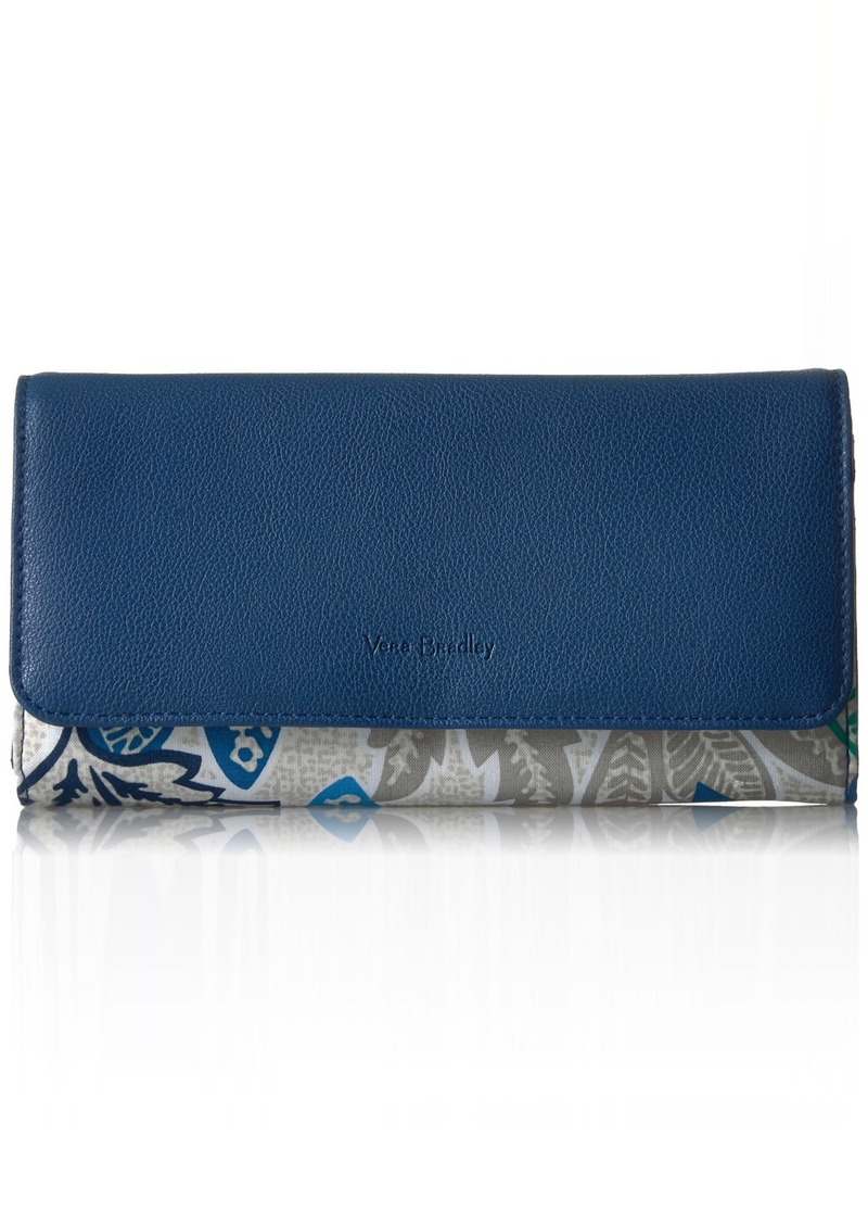 Vera Bradley RFID Audrey Wallet Signature Cotton