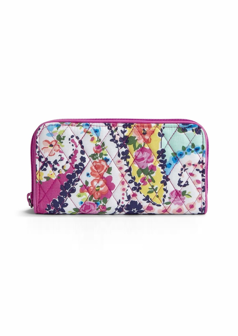 Vera Bradley RFID Georgia Wallet Signature Cotton