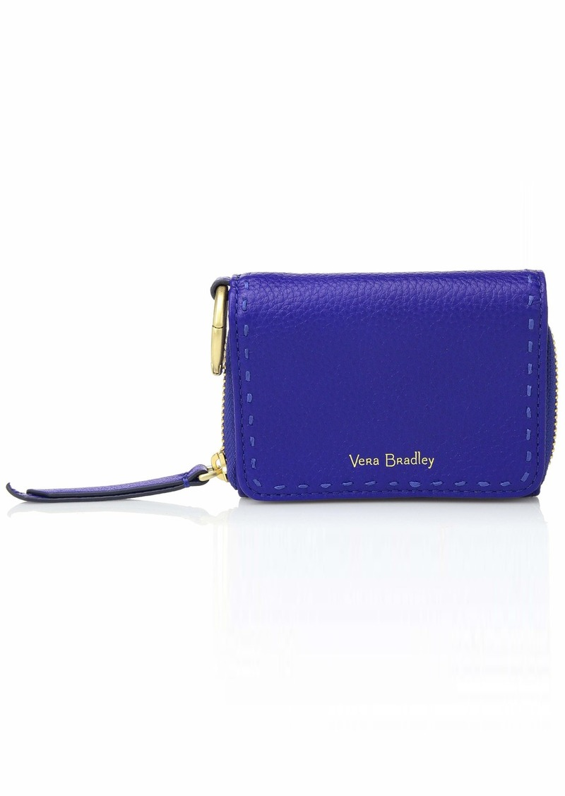 Vera Bradley RFID Mallory Card Case Leather