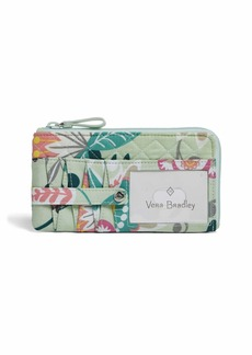 Vera Bradley Signature Cotton Ultimate Card Case Wallet with RFID Protection