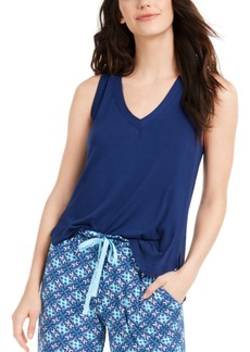 Vera Bradley Split Shoulder Sleep Tank