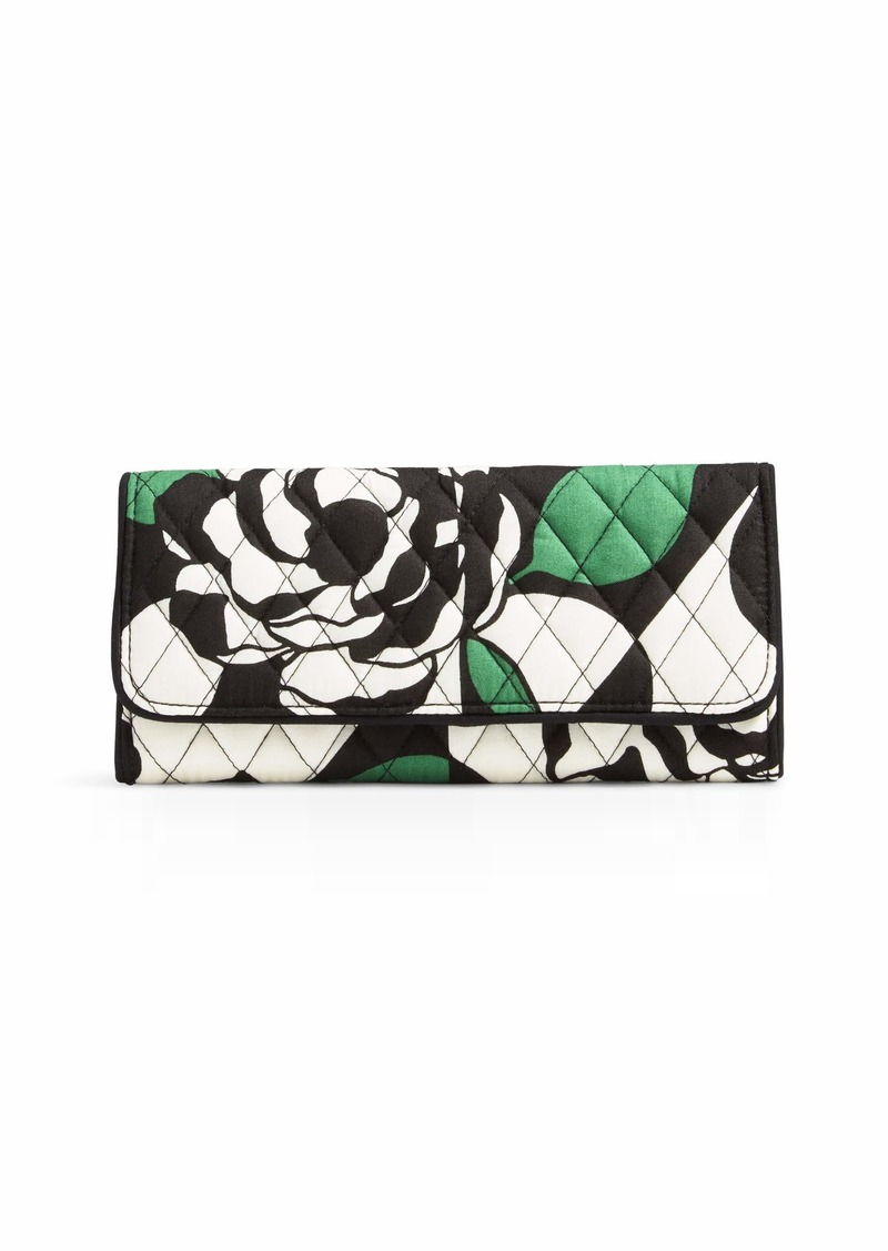Vera Bradley Trifold Wallet Signature Cotton