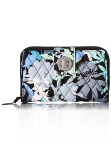 Vera Bradley Turnlock Wallet Camo Floral