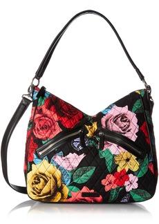 Vera Bradley Vivian Hobo Bag Cotton 1