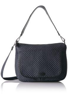 Vera Bradley Women's Denim Carson Shoulder Bag Crossbody Purse