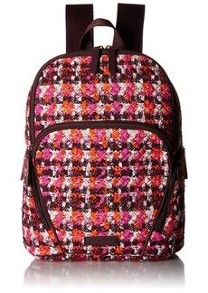 Vera Bradley Women's Hadley Backpack Houndstooth Tweed